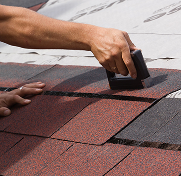 shingles roofing on house